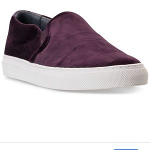 Skechers Vaso Velvet Slip on Shoes.